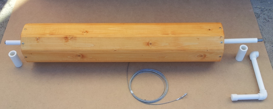 Подъемный механизм колодца своими руками 91